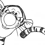 Witty Tigger Coloring Page