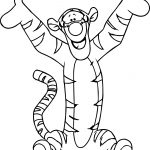 Zealous Tigger Coloring Page