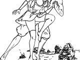 Aang And Katara Having Fun Bummblebird Dinljw Avatar Aang Coloring Page