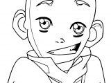 Aang S Smirk Umbreon Ddmdz Avatar Aang Coloring Page