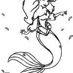 And Ariel Mermaid Coloring Page