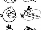 Angry Birds All Big Coloring Page
