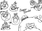 Angry Birds Photo Coloring Page