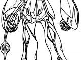 Aranaut Bakugan Of Minami Coloring Page