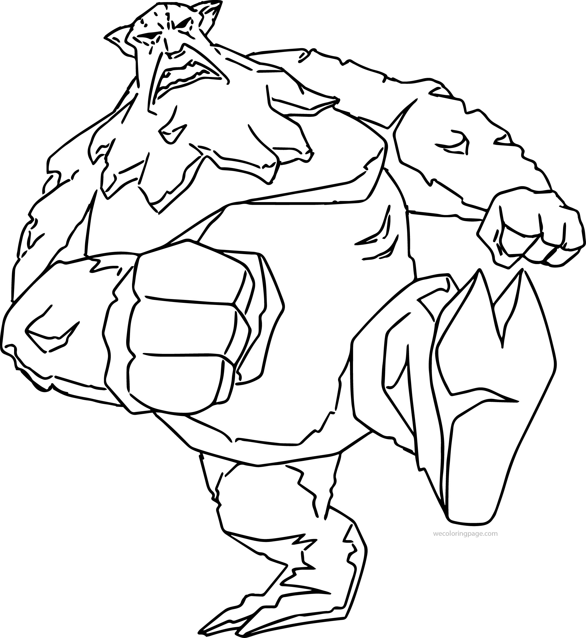 Atlantis The Lost Empire Monster Coloring Page