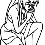 Atlantis The Lost Empire Princess Kida Prayer Best Coloring Page