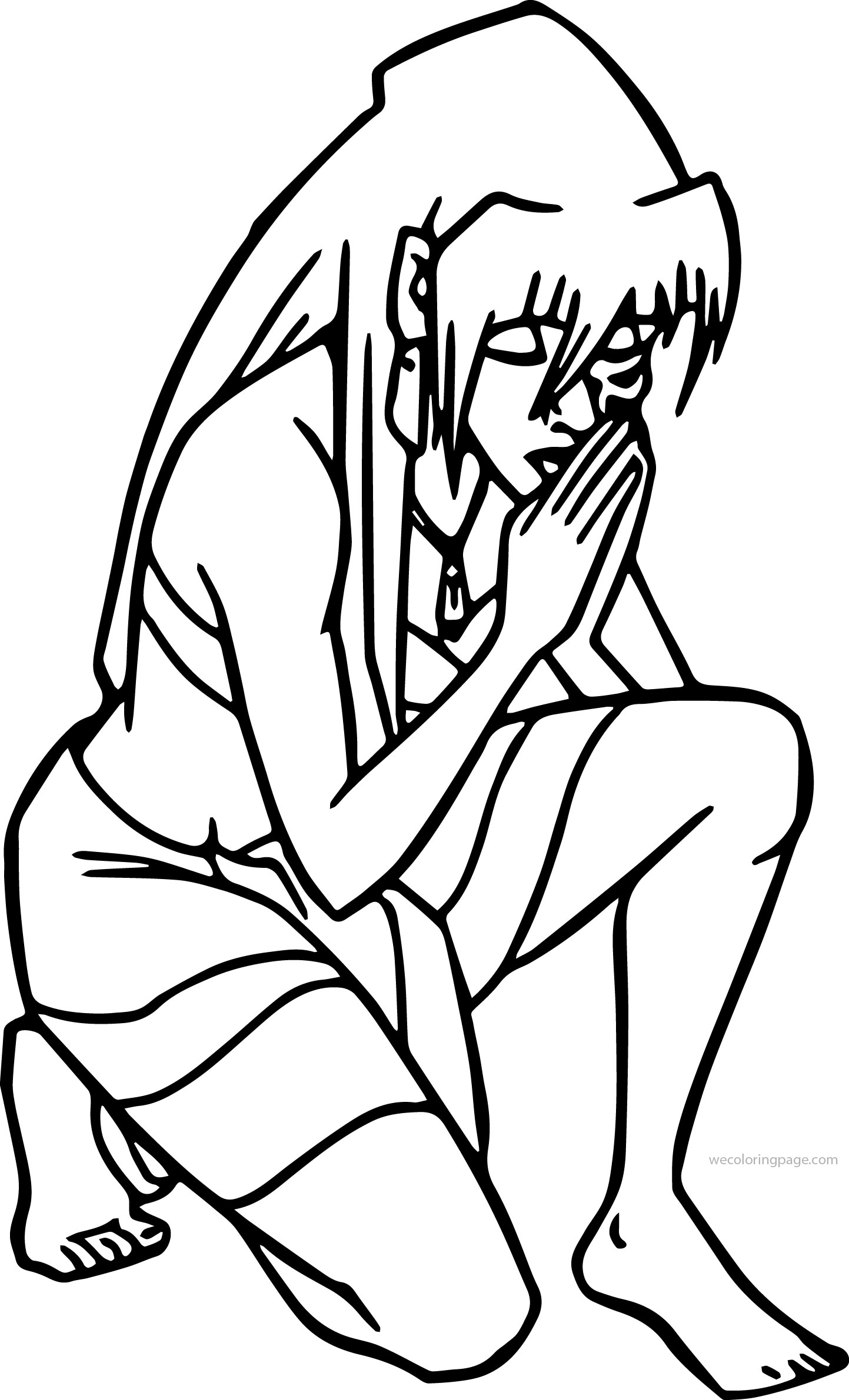 Atlantis The Lost Empire Princess Kida Prayer Best Coloring Page