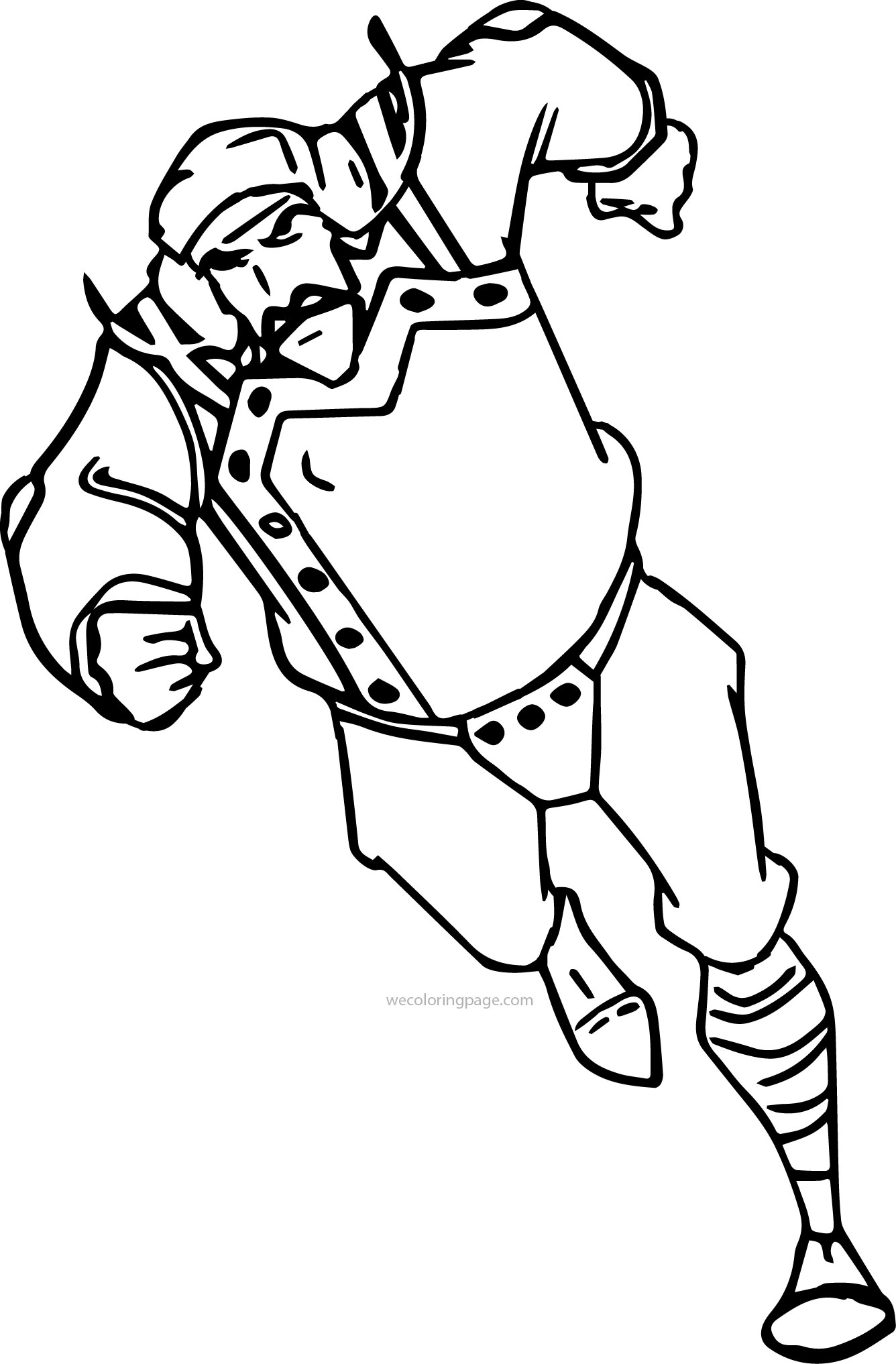 Atlantis The Lost Empire Running Vinny Coloring Page