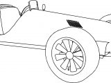 Auto Tricycle Ticycle Coloring Page