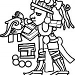 Aztec Music Coloring Page
