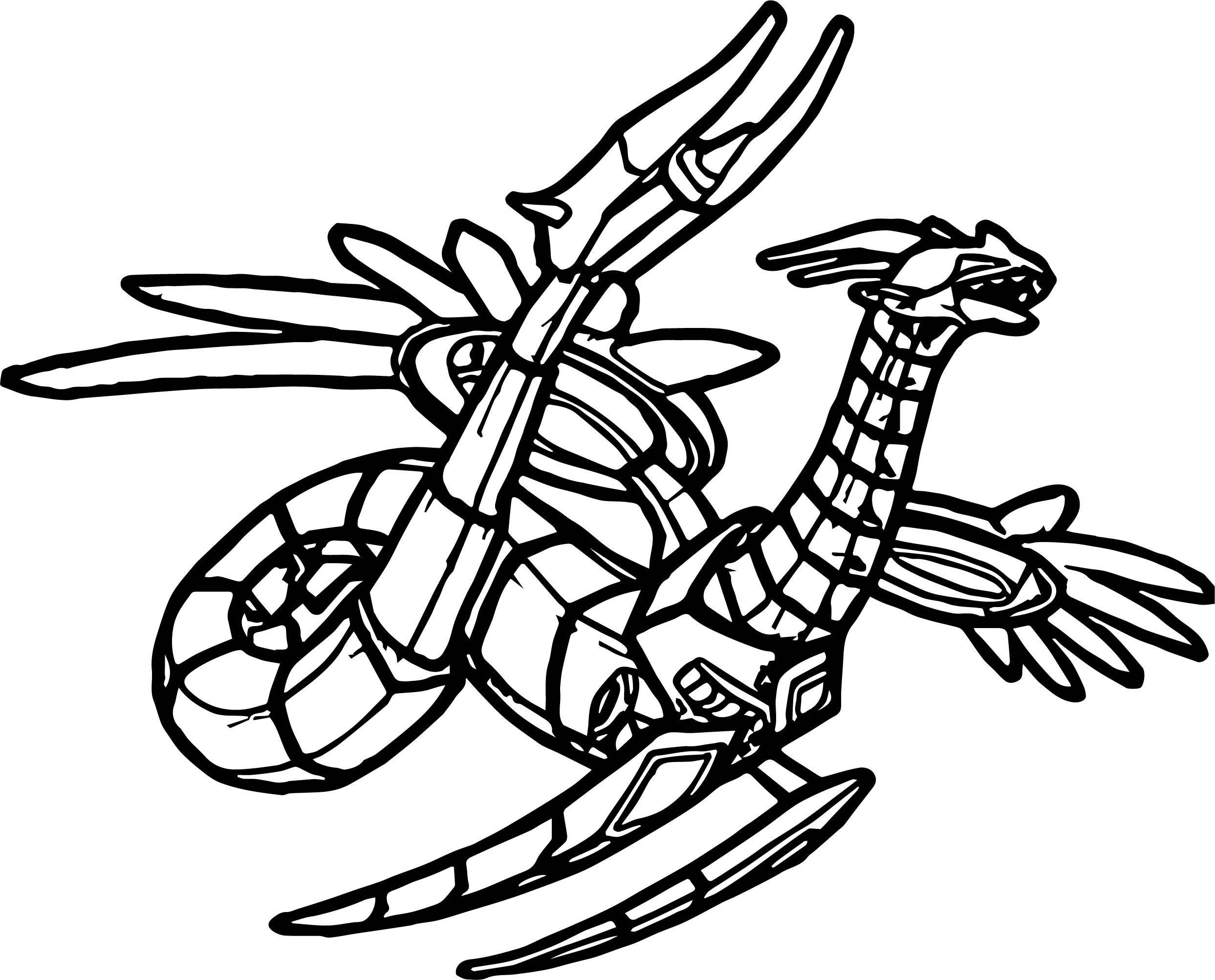Bakugan Altair Coloring Page