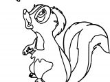 Bambi S Flower The Skunk Flower Butter Coloring Pages