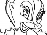 Bambi S Flower The Skunk Flower Cute Coloring Pages