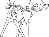 Bambi Thorn Coloring Pages