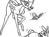 Bambi Thumper Run Play Coloring Pages