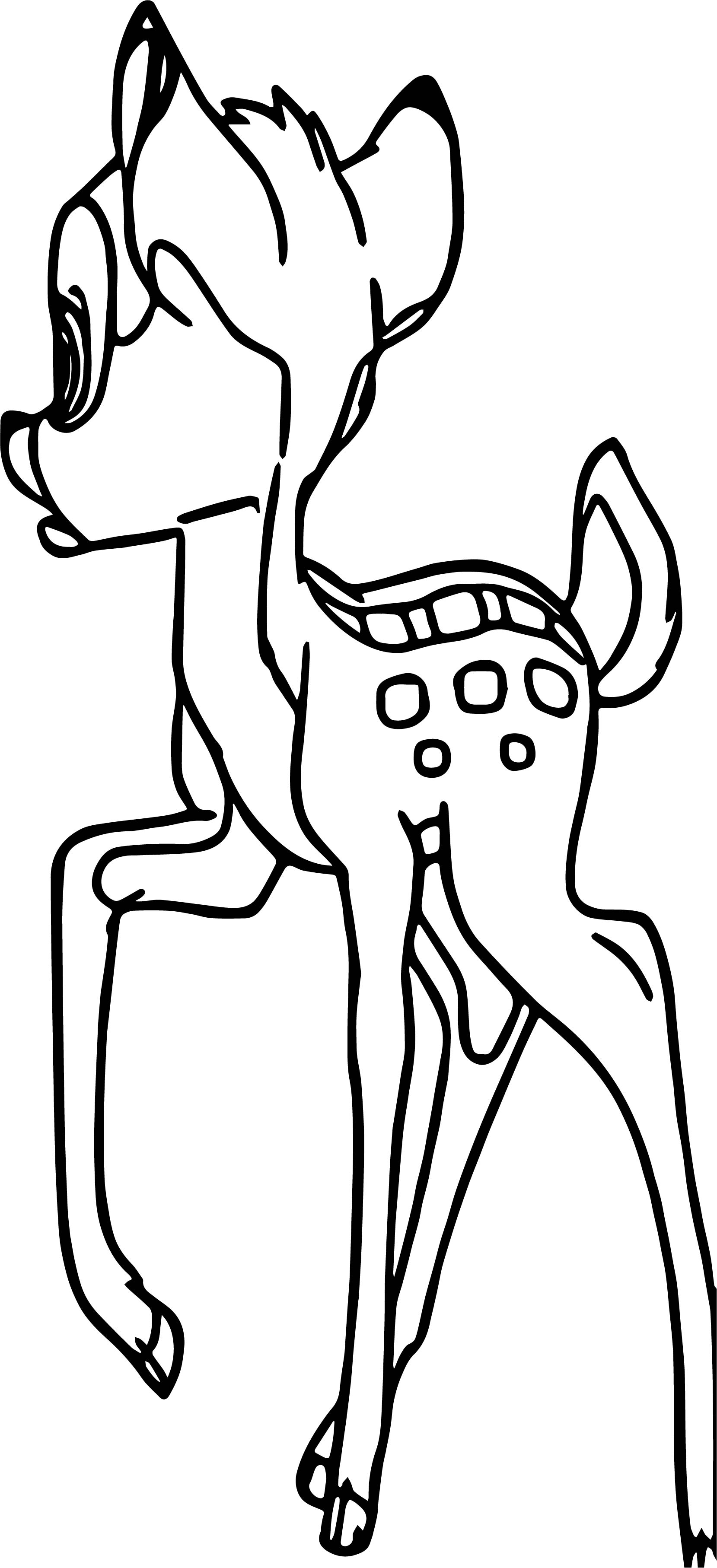 Bambi What This Coloring Pages