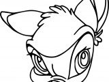 Bambi Yuck Coloring Pages