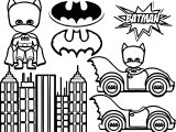 Batman Kids Coloring Page