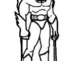 Batman Kids Doodle Coloring Page
