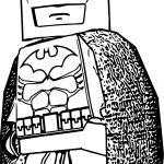 Batman LBTVG Lego Coloring Page
