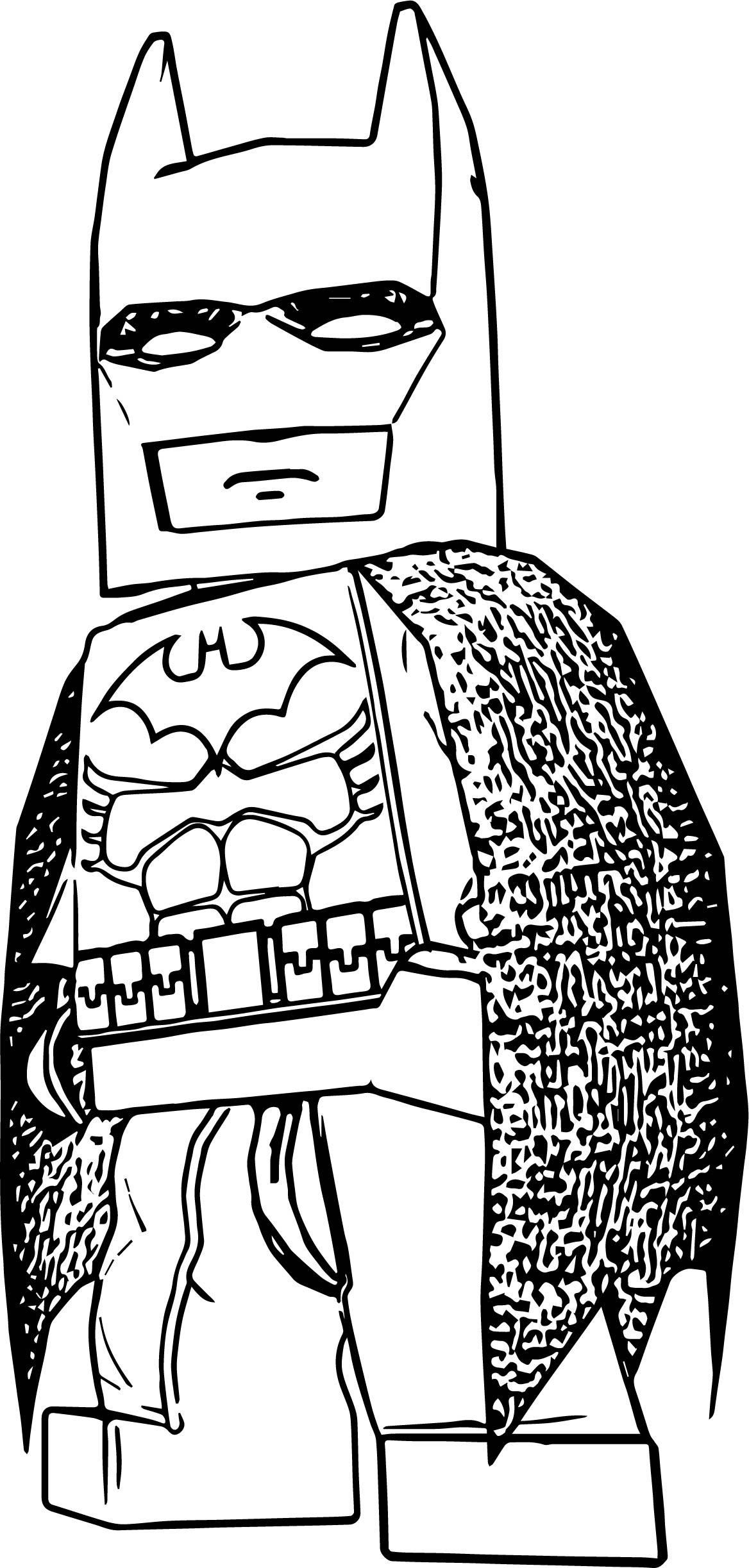 lego batman coloring pages - batman lbtvg lego coloring page
