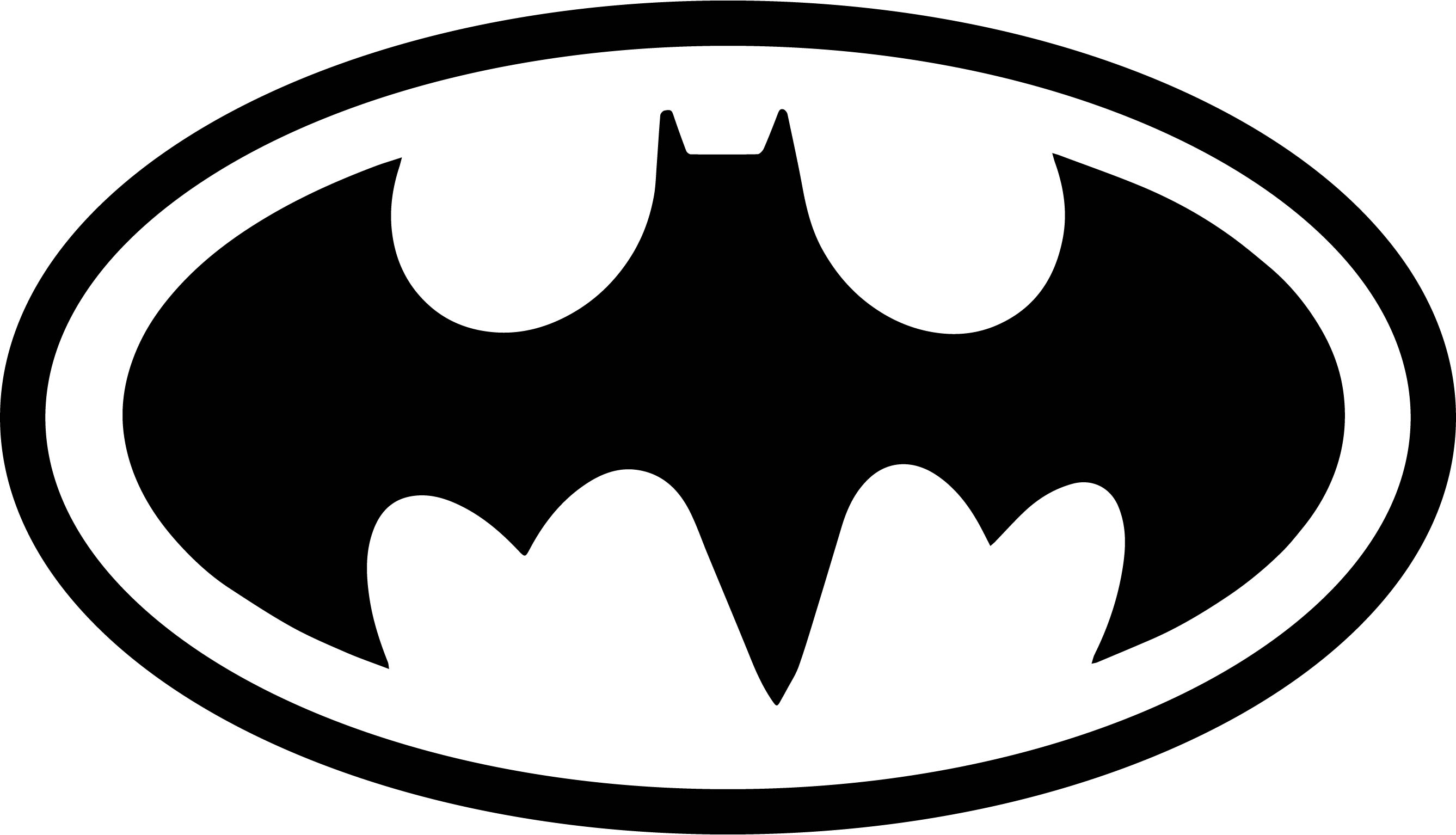 Batman Vs Superman Logo Symbol Coloring Page