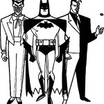 Batman Other Bad Mans Coloring Page
