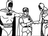Batman Superman Super Girl Adventures Coloring Page