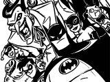 Batman Tas Coloring Page