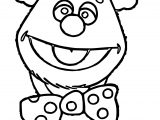 Bear Fozzie Coloring Page