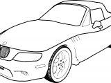 Bmw 306 Z3 97 Car Coloring Page
