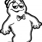 Boo Place Holder Monsters Cereal Election Coloring Page