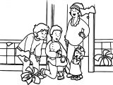 Caillou Check Up Coloring Page