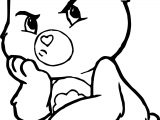 Care Bears Boring Adventures in Care A Lot Coloring Page