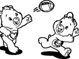 Care Bears Catch Ball Adventures in Care A Lot Coloring Page