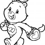 Care Bears Heart Box Adventures in Care A Lot Coloring Page