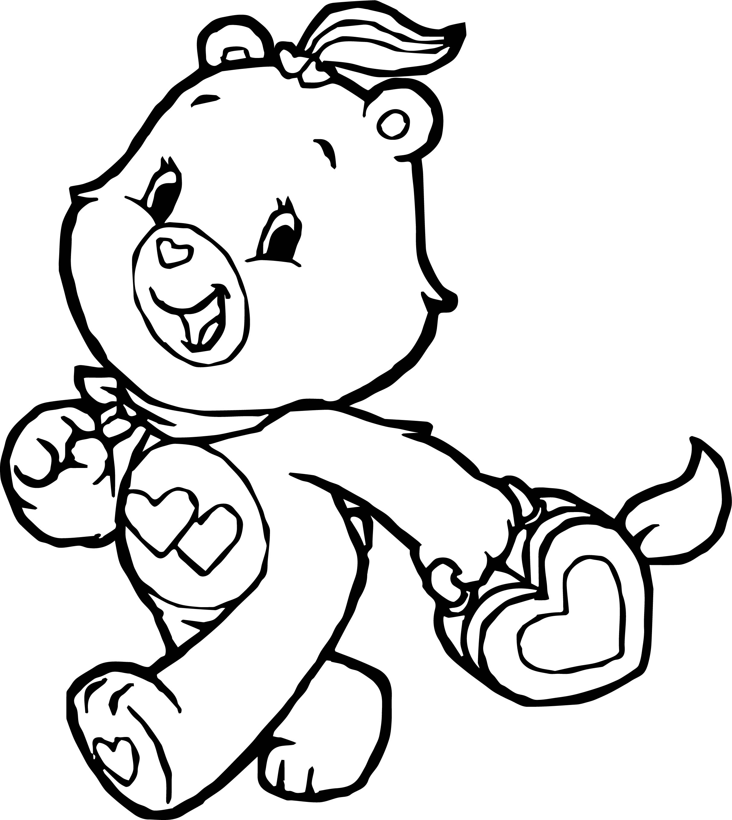 A Lot Care Bears Coloring Pages Coloring Pages