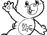Care Bears Hello Adventures in Care A Lot Coloring Page