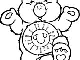 Care Bears Joy Coloring Page