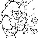 Care Bears Sleep Clouds Coloring Page