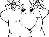 Care Bears Star Coloring Page