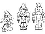 Cartoon Voltes V Sd Coloring Page