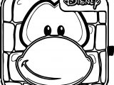 Club Penguin Box Coloring Page