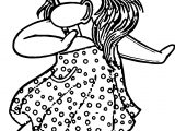 Club Penguin Girl Dance Coloring Page
