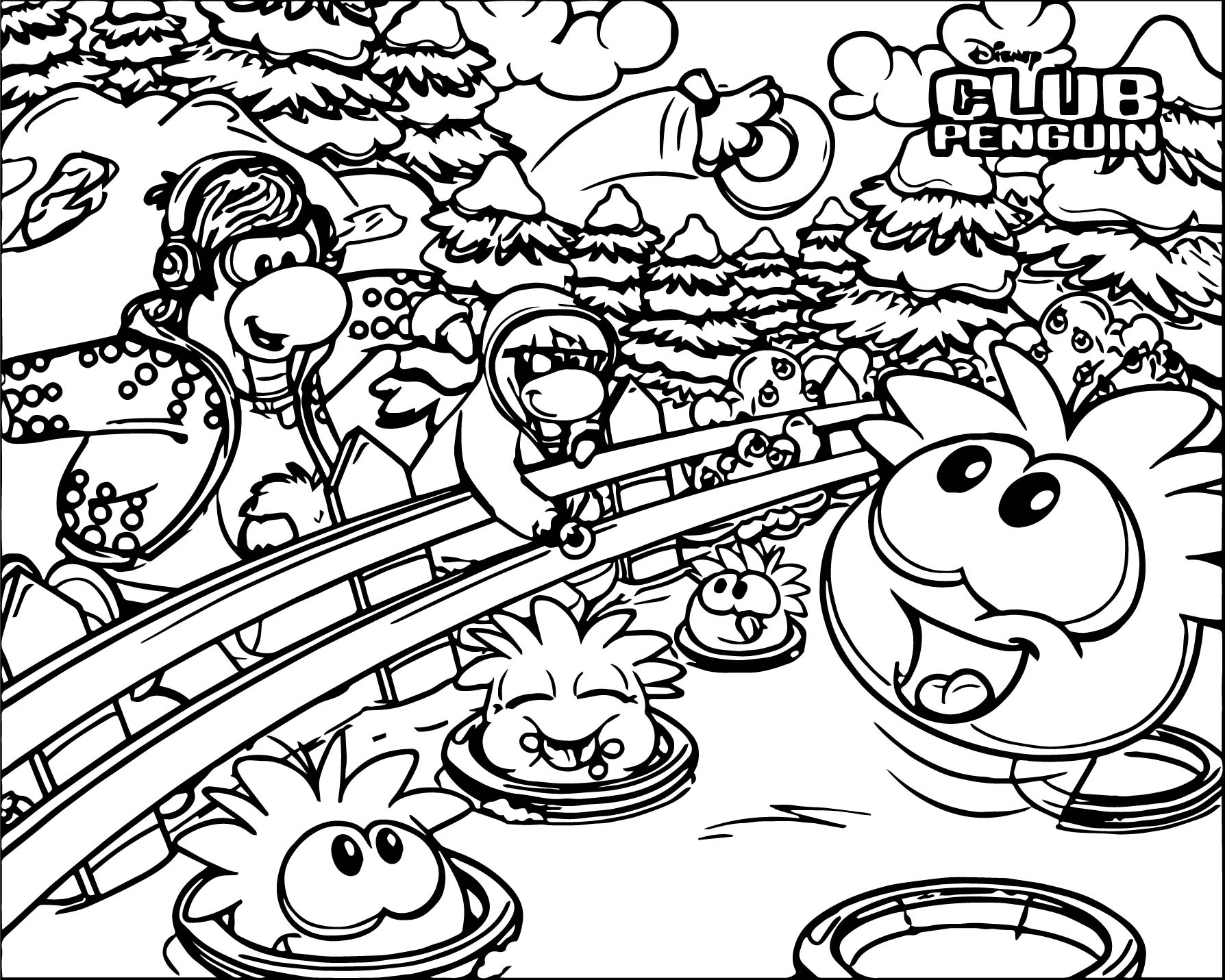 Club penguin coloring pages - a-k-b.info