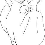 Comic Cartoon Funny Polarus HR Coloring Page