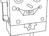 Comic Sponge Bob Coloring Page
