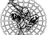 Coming Spider Man Coloring Page