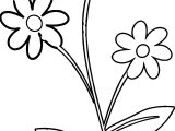 Cute Flower Border Flowers Coloring Page