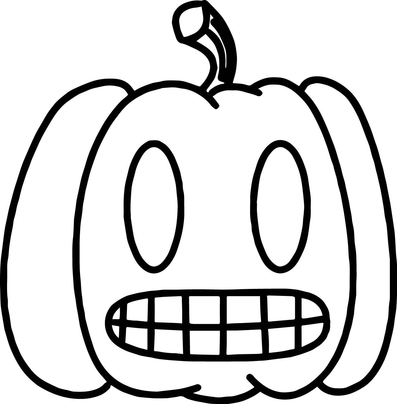 Danny Phantom Pumpkin Coloring Page | Wecoloringpage.com